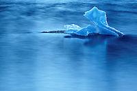 Iceberg in Mendenhall Lake, Juneau, Alaska, USA
