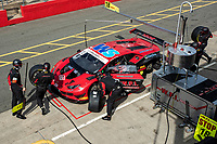 Tyre change for qualifying Michael Igoe & Phil Keen, Lamborghini Huracan GT3 EVO, WPI Motorsport during the British GT & F3 Championship on 10th July 2021