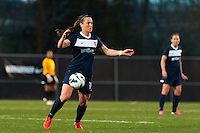 Sky Blue FC midfielder Brittany Bock (10). Sky Blue FC defeated the Western New York Flash 1-0 during a National Women's Soccer League (NWSL) match at Yurcak Field in Piscataway, NJ, on April 14, 2013.