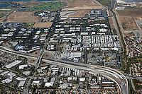 aerial photograph Mountain View, Santa Clara county, California