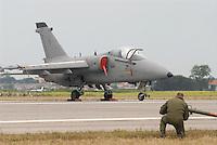 - Italian Air Force, strike aircraft AMX of 51th Wing....- Aeronautica Militare Italia, aereo da attacco AMX del 51° Stormo....