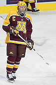 Gino Guyer - The University of Minnesota Golden Gophers defeated the University of North Dakota Fighting Sioux 4-3 on Friday, December 9, 2005, at Ralph Engelstad Arena in Grand Forks, North Dakota.