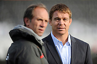 Former Springbok and Saracens player John Smit during the Sanlam Private Investments Shield match between Saracens and the Cell C Sharks at Allianz Park on Saturday 25th January 2014 (Photo by Rob Munro)