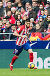 Yannick Ferreira Carrasco of Atletico de Madrid in action during the La Liga 2017-18 match between Atletico de Madrid and UD Las Palmas at Wanda Metropolitano on January 28 2018 in Madrid, Spain. Photo by Diego Souto / Power Sport Images