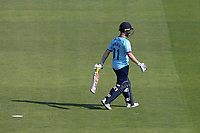 Adam Wheater of Essex leaves the field having been dismissed during Hampshire Hawks vs Essex Eagles, Royal London One-Day Cup Cricket at The Ageas Bowl on 22nd July 2021