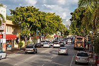 Miami, Florida.  Calle Ocho (Eighth Street), Little Havana.