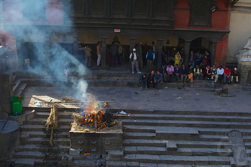 Pashupati Templs and cremation area Kathmandu, Nepal
