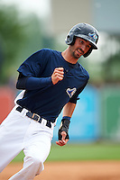 West Michigan Whitecaps first baseman Will Kengor (34) running the bases during a game against the Cedar Rapids Kernels on June 7, 2015 at Fifth Third Ballpark in Comstock Park, Michigan.  West Michigan defeated Cedar Rapids 6-2.  (Mike Janes/Four Seam Images)