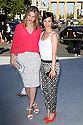 Rike Schmid und Aylin Tezel bei der Marc Cain Fashion Show auf der Mercedes-Benz Fashion Week Berlin Spring/Summer 2016. Berlin, 07.07.2015