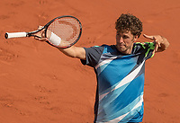 Paris, France, 31 May, 2017, Tennis, French Open, Roland Garros, Robin Haase (NED)<br /> Photo: Henk Koster/tennisimages.com