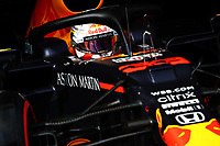 26th September 2020, Sochi, Russia; FIA Formula One Grand Prix of Russia, qualification;  Max Verstappen of Red Bull