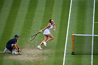 8th July 2021, Wimbledon, SW London, England; 2021 Wimbledon Championships, quarterfinals; Aryna Sabalenka (Blr)