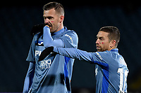 Josip Ilicic and Alejandro Gomez of Atalanta BC during the Serie A football match between Spezia Calcio and Atalanta BC at Dino Manuzzi stadium in Cesena (Italy), November 20th, 2020. Photo Andrea Staccioli / Insidefoto