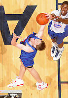 Cody Zeller at the NBPA Top100 camp June 18, 2010 at the John Paul Jones Arena in Charlottesville, VA. Visit www.nbpatop100.blogspot.com for more photos. (Photo © Andrew Shurtleff)