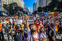 03/07/2021 - ATO FORA BOLSONARO NO RIO DE JANEIRO