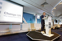 Pictured: Anna Soubry MP. Monday 13 May 2019<br /> Re: Change UK, European Elections rally in Cardiff, Wales, UK.