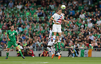 Dublin, Ireland - Saturday June 02, 2018: Bobby Wood during an international friendly match between the men's national teams of the United States (USA) and Republic of Ireland (IRE) at Aviva Stadium.