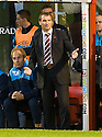 31/10/2009  Copyright  Pic : James Stewart.sct_jspa20_motherwell_v_hearts  . :: HEARTS MANAGER CSABA LASZLO DURING THE GAME AGAINST MOTHERWELL :: .James Stewart Photography 19 Carronlea Drive, Falkirk. FK2 8DN      Vat Reg No. 607 6932 25.Telephone      : +44 (0)1324 570291 .Mobile              : +44 (0)7721 416997.E-mail  :  jim@jspa.co.uk.If you require further information then contact Jim Stewart on any of the numbers above.........