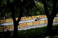 First rider off the start ramp in the 2021 Giro is Filippo Tagliani (ITA/Androni Giocattoli - Sidermec)<br /> <br /> 104th Giro d'Italia 2021 (2.UWT)<br /> Stage 1 (ITT) from Turin to Turin (8.6 km)<br /> <br /> ©kramon