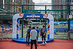 Branding at stadium during the Day 3 of the HKFC Citibank Soccer Sevens 2014 on May 25, 2014 at the Hong Kong Football Club in Hong Kong, China. Photo by Xaume Olleros / Power Sport Images