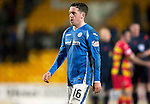 St Johnstone v Partick Thistle…02.03.16  SPFL McDiarmid Park, Perth<br />Danny Swanson walks off at full time<br />Picture by Graeme Hart.<br />Copyright Perthshire Picture Agency<br />Tel: 01738 623350  Mobile: 07990 594431