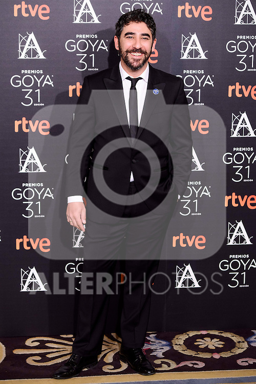 Raul Jimenez attends to the 2017 Goya Awards Candidates Cocktail at Ritz Hotel in Madrid, Spain. January 12, 2017. (ALTERPHOTOS/BorjaB.Hojas)