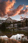 Emerald Lakes, Ansel Adams Wilderness, Sierra Nevada Mountains, California