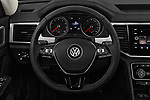 Car pictures of steering wheel view of a 2018 Volkswagen Atlas SEL 5 Door SUV
