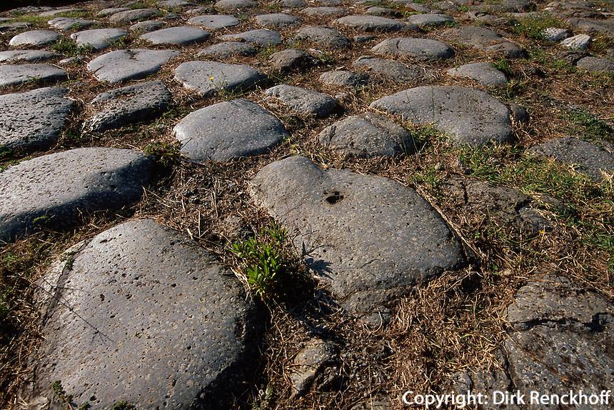 Italien, Umbrien, Römische Stadt Ocriculum in Otricoli, Via Flaminia