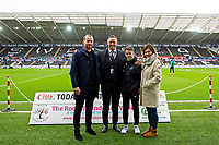 Lee Trundle of Swansea City during the Sky Bet Championship match between Swansea City and West Bromwich Albion at the Liberty Stadium in Swansea, Wales, UK. Saturday 07 March 2020