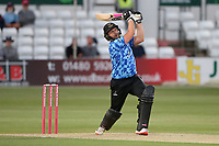 Luke Wright in batting action for Sussex during Essex Eagles vs Sussex Sharks, Vitality Blast T20 Cricket at The Cloudfm County Ground on 15th June 2021