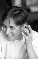 Montreal (QC) CANADA  file photo - <br /> <br /> March 1988 -Ginette Laurin