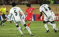 Ghana vs Korea, October 8, 2009