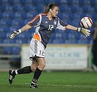 MAR 13, 2006: Faro, Portugal:  Nadine Angerer