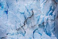 Ice detail of Perito Moreno Glacier, Los Glaciares National Park, Argentina