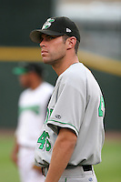 Clinton Lumberkings Gerry Oakes during a Midwest League game at Fifth Third Field on July 18, 2006 in Dayton, Ohio.  (Mike Janes/Four Seam Images)