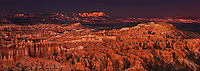 904000007 panoramic view of a violent monsoon summer storm over the hoodoos of silent city and the paunsaugunt plateau in bryce canyon national park utah united states