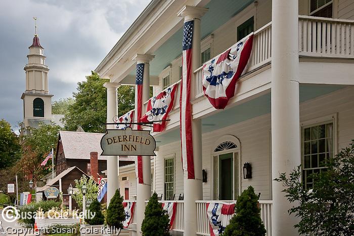 The Deerfield Inn in the Historic Deerfield Museum, Deerfield, Pioneer Valley, MA, USA