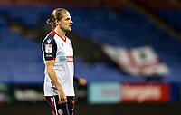 Bolton Wanderers' Lloyd Isgrove looks on <br /> <br /> Photographer Andrew Kearns/CameraSport<br /> <br /> EFL Papa John's Trophy - Northern Section - Group C - Bolton Wanderers v Newcastle United U21 - Tuesday 17th November 2020 - University of Bolton Stadium - Bolton<br />  <br /> World Copyright © 2020 CameraSport. All rights reserved. 43 Linden Ave. Countesthorpe. Leicester. England. LE8 5PG - Tel: +44 (0) 116 277 4147 - admin@camerasport.com - www.camerasport.com