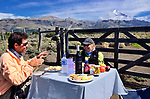 Patagonia lunch
