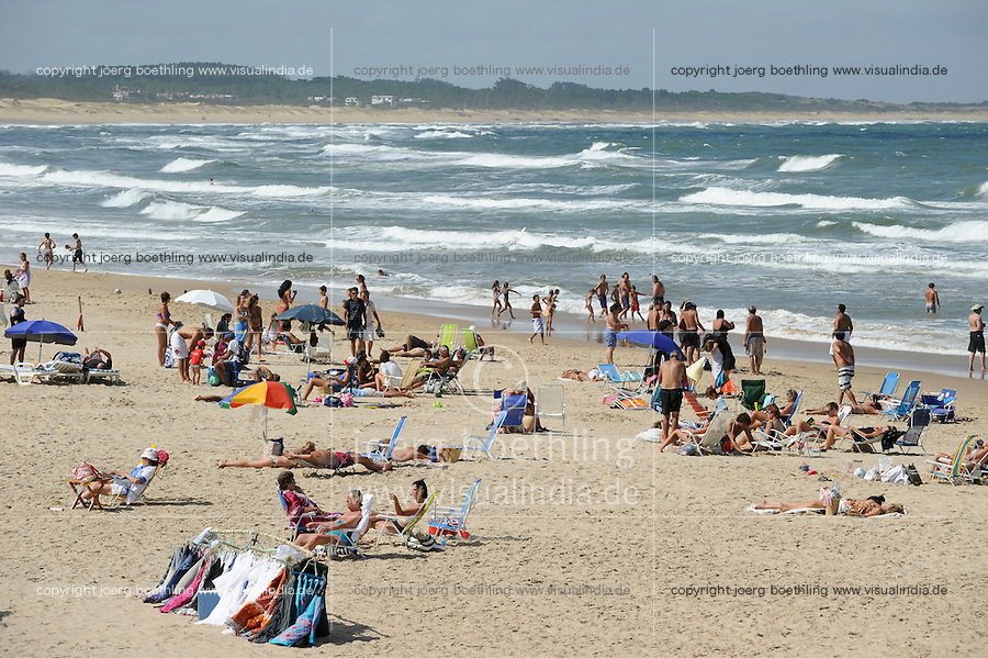 URUGUAY Jose Ignacio, beach at atlantic ocean