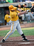 Amarillo Sox Outfielder Tim Alberts (6) in action during the American Association of Independant Professional Baseball game between the Amarillo Sox and the Fort Worth Cats at the historic LaGrave Baseball Field in Fort Worth, Tx. Fort Worth defeats Amarillo 3 to 0......