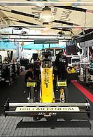 May 20, 2012; Topeka, KS, USA: NHRA top fuel dragster driver J.R. Todd during the Summer Nationals at Heartland Park Topeka. Mandatory Credit: Mark J. Rebilas-