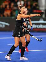Olivia Merry during the Pro League Hockey match between the Blacksticks women and Argentina, Nga Punawai, Christchurch, New Zealand, Friday 28 February 2020. Photo: Simon Watts/www.bwmedia.co.nz