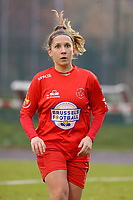 Taika De Koker (16 Woluwe) pictured during a female soccer game between FC Femina WS Woluwe and RSC Anderlecht Women on the eight match day of the 2020 - 2021 season of Belgian Women's Super League , Sunday 22nd of November 2020  in Woluwe, Belgium . PHOTO SPORTPIX.BE | SPP | SEVIL OKTEM