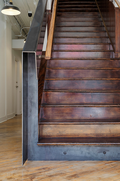 Factory No.6 Stair | Jonathan Barnes Architecture & Design