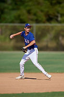 Peyton Graham during the WWBA World Championship at the Roger Dean Complex on October 19, 2018 in Jupiter, Florida.  Peyton Graham is a shortstop from Waxahachie, Texas who attends Waxahachie High School and is committed to Oklahoma.  (Mike Janes/Four Seam Images)