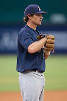 Mat Gamel (17) of the Huntsville Stars on defense at the Baseball Grounds in Jacksonville, FL, Wednesday June 11, 2008.