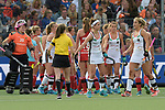 NED - Amsterdam, Netherlands, August 20: During the women Pool B group match between Germany (white) and England (red) at the Rabo EuroHockey Championships 2017 August 20, 2017 at Wagener Stadium in Amsterdam, Netherlands. Final score 1-0. (Photo by Dirk Markgraf / www.265-images.com) *** Local caption ***