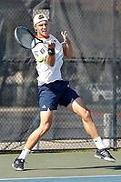SAN ANTONIO, TX - MARCH 7, 2021: The University of Texas at San Antonio Roadrunners defeat the Abilene Christian University Wildcats 7-0 at the UTSA Tennis Center (Photo by Jeff Huehn).